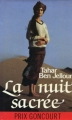 Couverture La nuit sacrée Editions France Loisirs 1988
