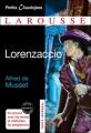 Couverture Lorenzaccio Editions Larousse (Petits classiques) 2012