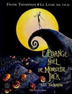 Couverture L'Etrange Noël de Monsieur Jack : Le livre du Film