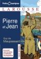 Couverture Pierre et  Jean Editions Larousse (Petits classiques) 2008