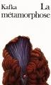 Couverture La métamorphose Editions Folio  1983