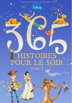 Couverture 365 histoires pour le soir, tome 3
