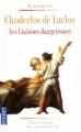 Couverture Les Liaisons dangereuses Editions Pocket (Classiques) 1998