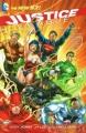 Couverture Justice League (Renaissance), tome 01 : Aux origines Editions DC Comics 2012