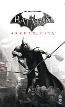 Couverture Batman : Arkham City