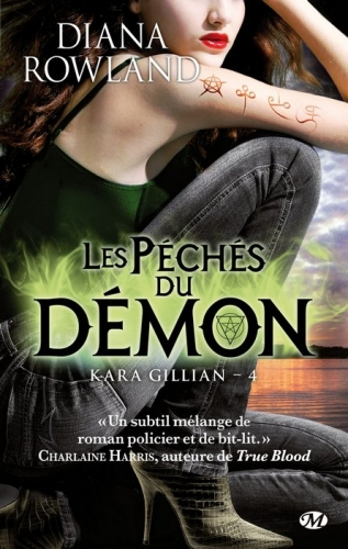 Couverture Kara Gillian, tome 4 : Les péchés du démon