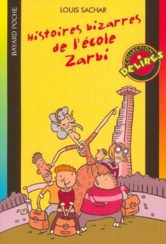 Couverture Histoires bizarres de l'école zarbi