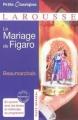 Couverture Le Mariage de Figaro Editions Larousse (Petits classiques) 2011