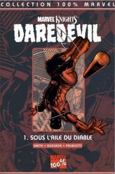 Couverture Daredevil, tome 01 : Sous l'aile du diable
