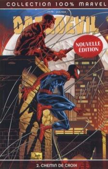 Couverture Daredevil, tome 02 : Chemin de croix