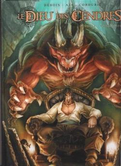 Couverture Le dieu des cendres, tome 1 : Luchtigern