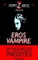 Couverture Éros Vampire, tome 1 Editions Albin Michel 1997