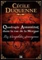 Couverture Les nécrophiles anonymes, tome 1 : Quadruple assassinat dans la rue de la morgue Editions Bragelonne 2012