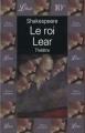 Couverture Le Roi Lear Editions Librio 2000