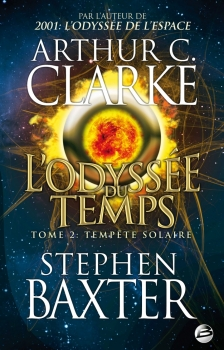 Couverture L'odyssée du temps, tome 2 : Tempête solaire
