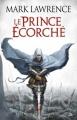 Couverture L'Empire Brisé, tome 1 : Le Prince écorché Editions Bragelonne 2012
