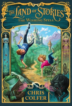 Couverture The Land Of Stories, book 1: The Wishing Spell