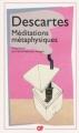Couverture Méditations métaphysiques Editions Flammarion (GF) 2009