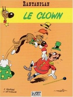Couverture Rantanplan, tome 04 : Le clown