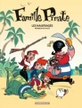 Couverture Famille Pirate, tome 1 : Les naufragés Editions Dargaud 2012