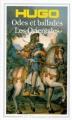 Couverture Odes et Ballades, Les Orientales Editions Flammarion (GF) 1999