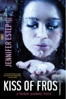 Couverture Mythos Academy, book 2: Kiss of Frost