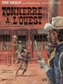 Couverture Blueberry, tome 02 : Tonnerre à l'Ouest Editions Dargaud 1983