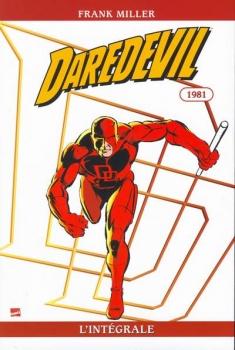 Couverture Daredevil, intégrale, tome 17 : 1981