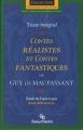 Couverture Contes réalistes et contes fantastiques Editions Beauchemin (Parcours d'une oeuvre) 1999