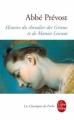 Couverture Histoire du chevalier Des Grieux et de Manon Lescaut / Manon Lescaut Editions Le Livre de Poche (Les Classiques de Poche) 2005