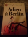 Couverture Adieu à Berlin Editions J'ai Lu 1980
