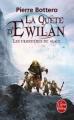 Couverture La quête d'Ewilan, tome 2 : Les frontières de glace Editions Le Livre de Poche 2012