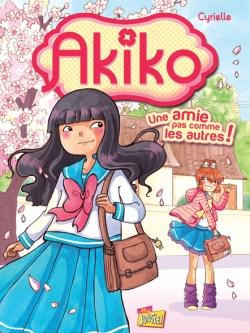 Couverture Akiko, tome 1 : Une amie pas comme les autres !
