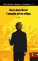 Couverture L'Assassin est au collège Editions L'École des loisirs (Médium) 2011