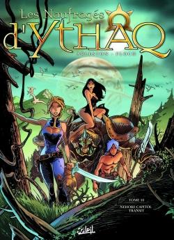 Couverture Les naufragés d'Ythaq, tome 10 : Nehorf-Capitol Transit
