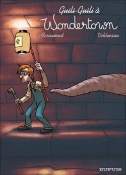 Couverture Wondertown, tome 2 : Guili-Guili à Wondertown