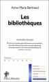 Couverture Les bibliothèques Editions La découverte (Repères) 2007