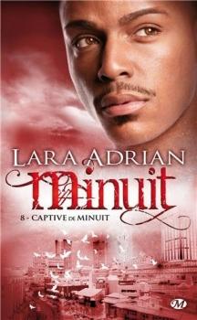 Couverture Minuit, tome 08 : Captive de minuit