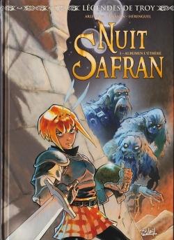 Couverture Nuit Safran, tome 1 : Albumen l'éthéré
