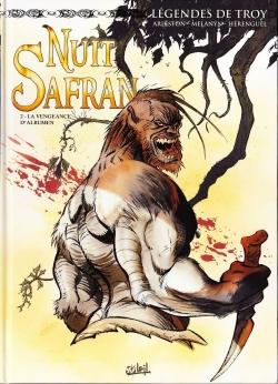 Couverture Nuit Safran, tome 2 : La vengeance d'Albumen