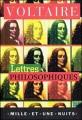 Couverture Lettres philosophiques Editions Mille et une nuits 1999