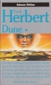 Couverture Dune, tome 1, partie 1 Editions Presses Pocket (Science-fiction) 1990