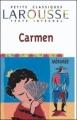 Couverture Carmen (roman) Editions Larousse (Petits classiques) 2000