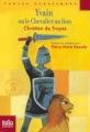 Couverture Yvain, le chevalier au lion / Yvain ou le chevalier au lion Editions Folio  (Junior - Textes classiques) 2012