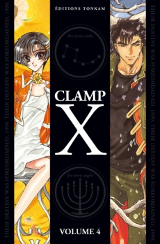 Couverture X, double, tome 4