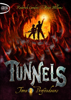 Couverture Tunnels, tome 2 : Profondeurs