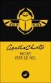 Couverture Mort sur le Nil Editions du Masque 2012