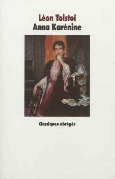 Couverture Anna Karénine, abrégé
