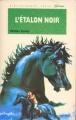 Couverture L'étalon noir Editions Hachette (Bibliothèque Verte) 1992