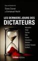 Couverture Les derniers jours des dictateurs Editions Perrin 2012